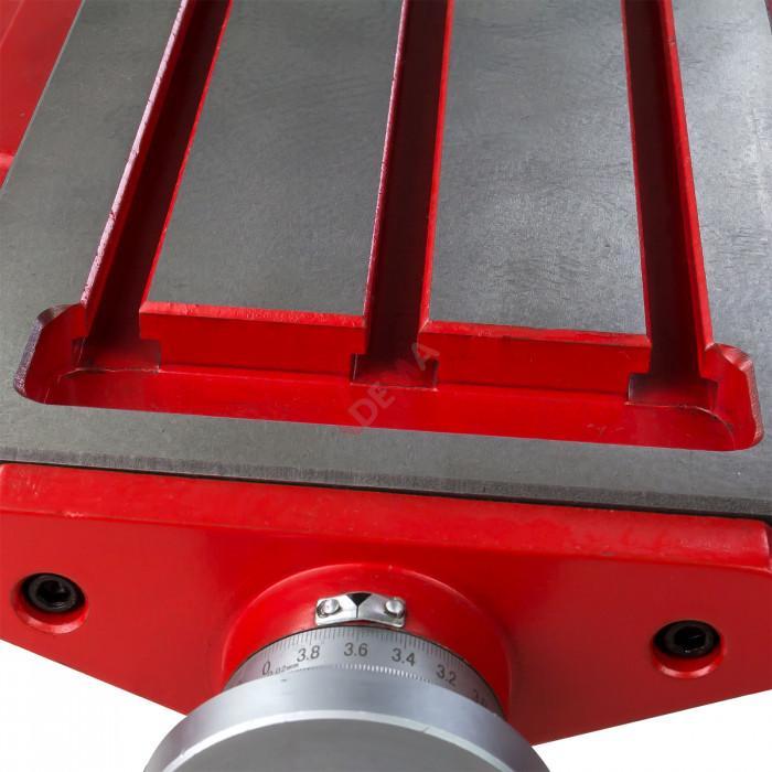 Table croisée métrique de précision XXL 640 x 205 mm