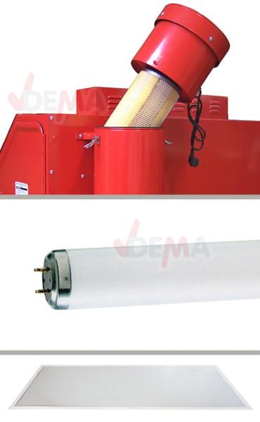 Cabine de sablage / sableuse 340/420 L