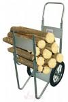 Diable - Transport de bois - acier galvanisé