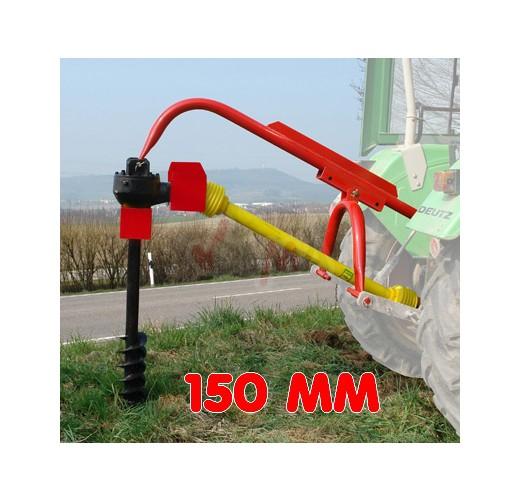 """Tarière 3 points - 150 mm (6"""") pour tracteur"""