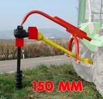 """Tarière 3 points - 150 mm (6"""") pour tracteur Cat. 1"""