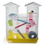 Belle cage à hamster équipée - 470 x 300 x 630 mm