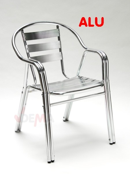Salon de jardin aluminium table carr e 80cm 4 chaises alu for Lot chaise de jardin