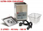 Nettoyeur ultrasons chauffant 2 L - USR 2000