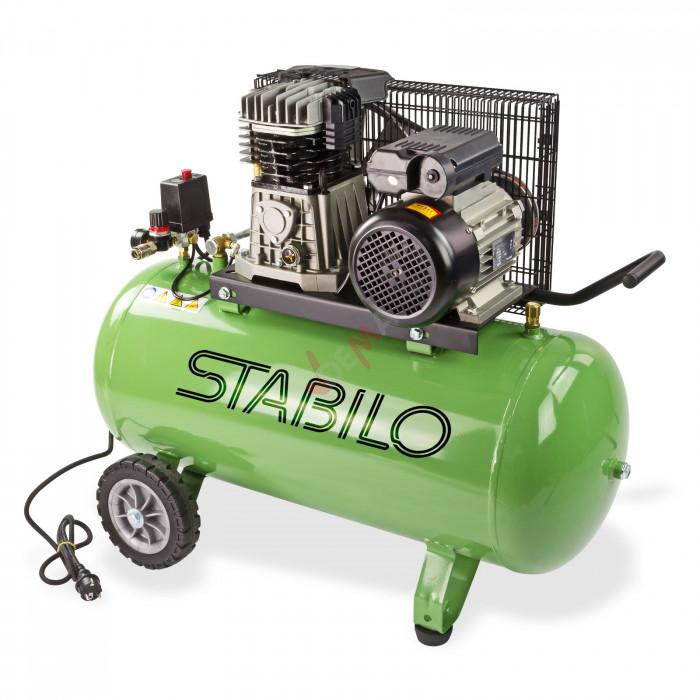 Compresseur 100 l bi-cylindre 450/10/100 - 230 V