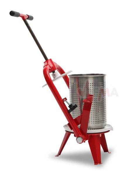 Pressoir à fruit V9- grille en acier inoxydable