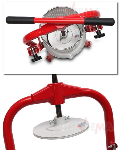 Pressoir à fruits - presse à fruits V9- grille en acier inoxydable