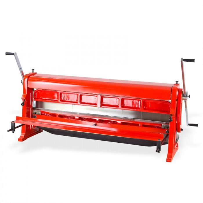 Plieuse - cintreuse + découpe - machine 3 en 1 - Tôle largeur 1320 mm
