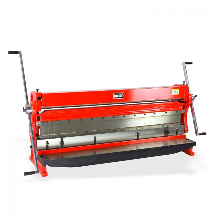 Plieuse - cintreuse + découpe - machine 3 en 1 - Tôle larg 1320 mm