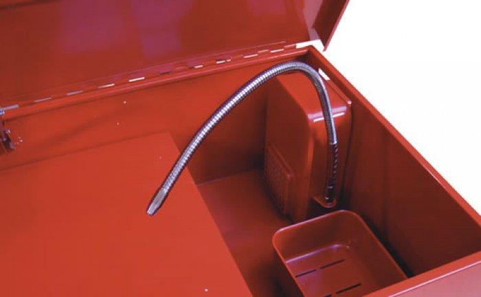fontaine de nettoyage pi ces m caniques bac 150 l int 1060x520x270 mm equipement atelier. Black Bedroom Furniture Sets. Home Design Ideas
