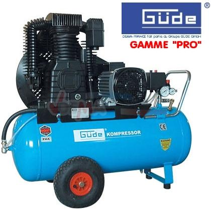 """GÜDE - Compresseur 800-11/90 Triphasé - Gamme """"PRO"""""""