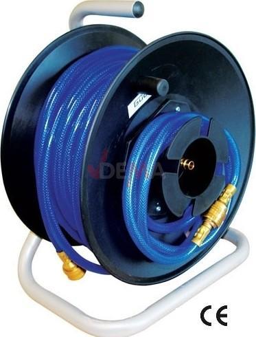Enrouleur tuyau air comprim 20 m 11 x 6 tuyau - Enrouleur air comprime ...