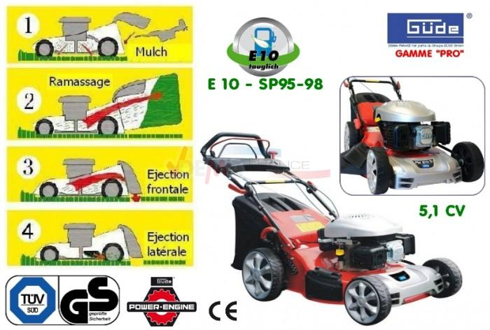 GÜDE -Tondeuse auto-tractée PM 510 DELUXE - 5,1 CV