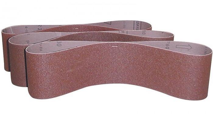 Bandes abrasives 50 X 686 grain K100 pour ponceuse G55108 - lot de 3