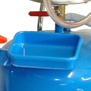 Aspirateur et récupérateur d´huile GOA 65 l.