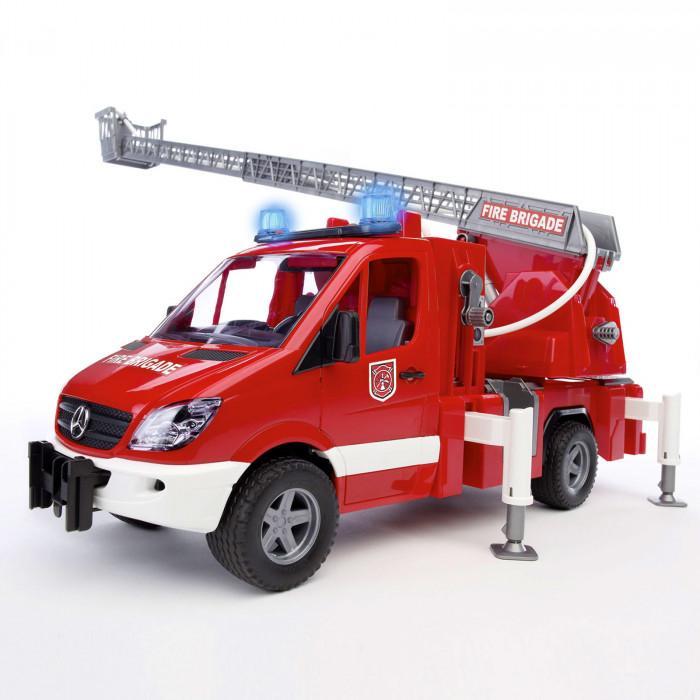 Mercedes Sprinter Camion de pompier Bruder son et lumière pompe à eau