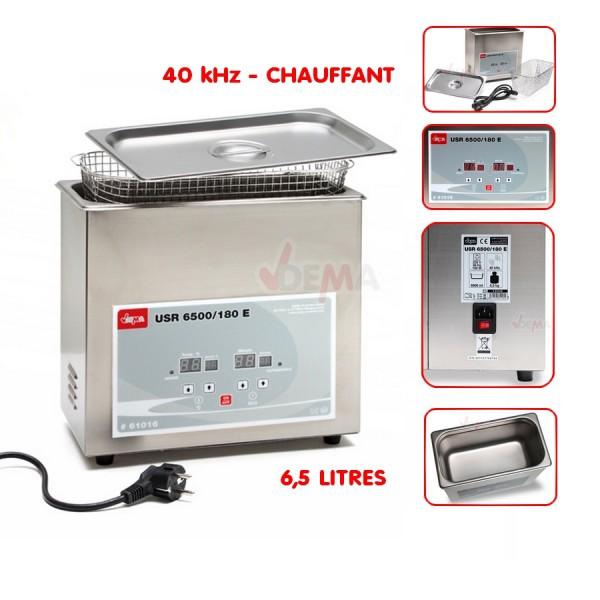Nettoyeur chauffant ULTRA SON 6,5 L - USR 6500