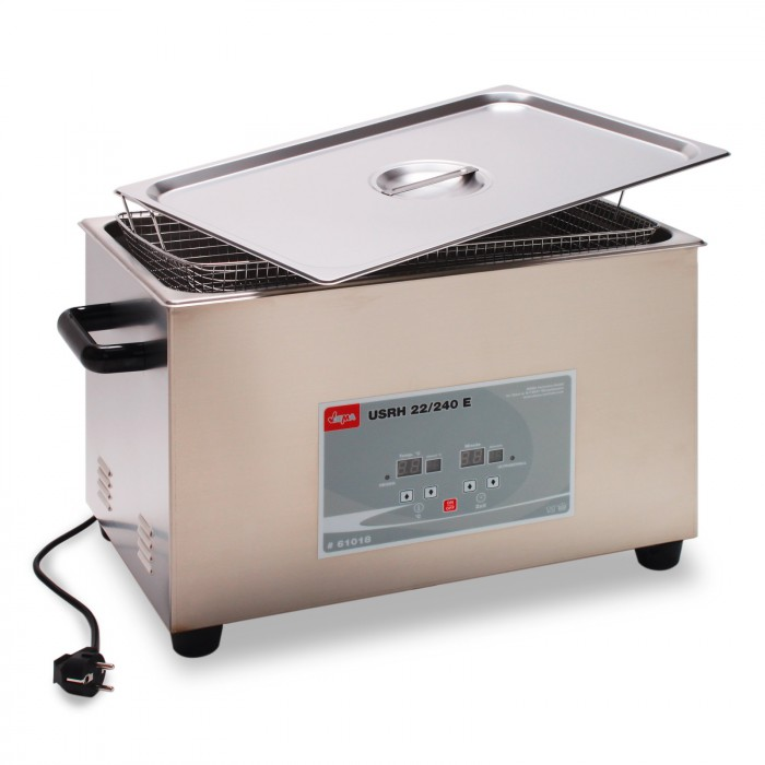 Nettoyeur ultrasons chauffant + vidange  22  L - UR22L/HD