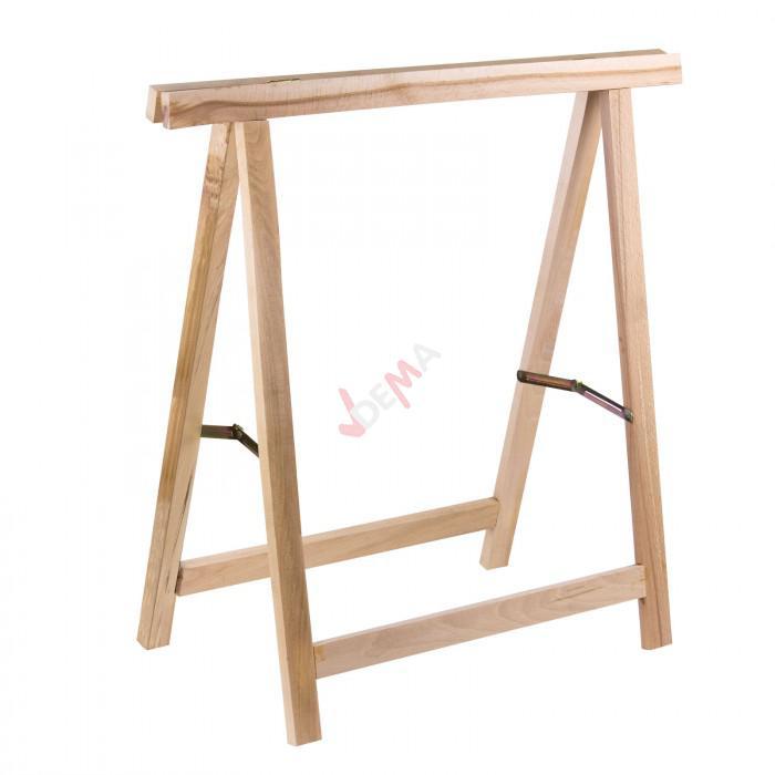 Tréteaux en bois - lot de 2
