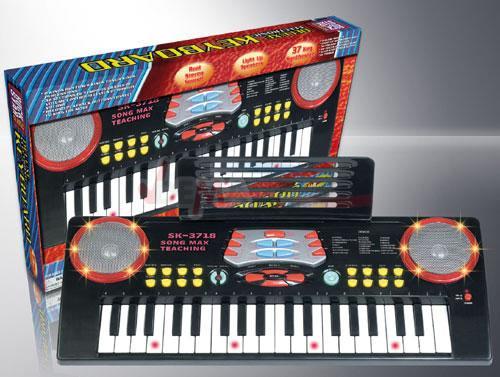 Synthé - Clavier d'apprentissage avec touches éclairées