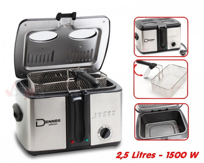 Friteuse 2,5 litres - 1500 W