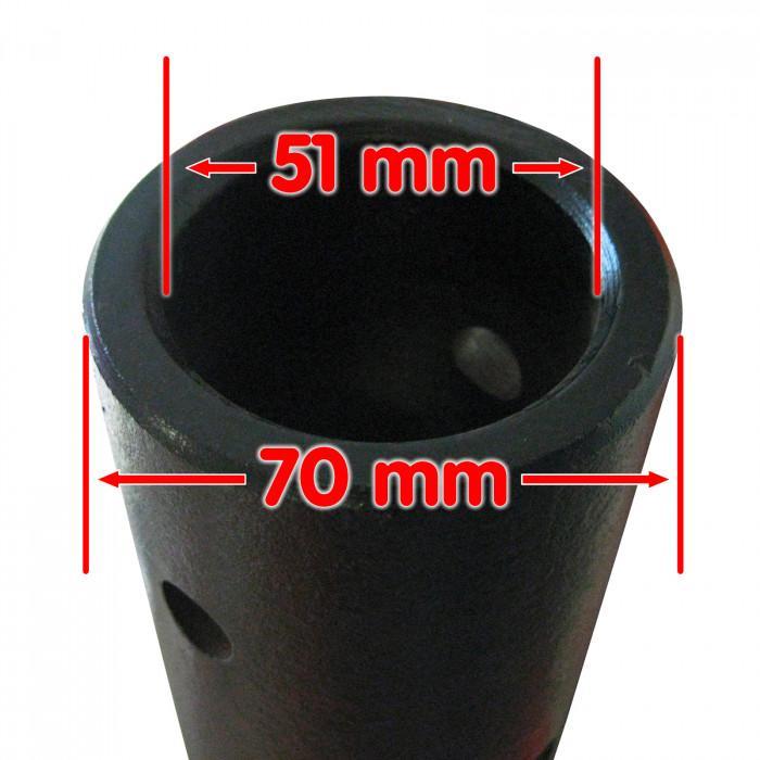 Mèche pour tarière 3 points - 150 mm