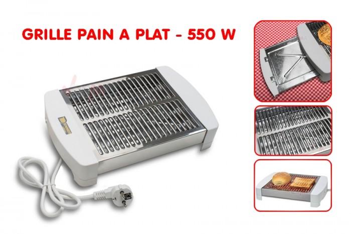 Grille pain à plat - Toaster - FT 550 - 550 W - 4 tubes à Quartz