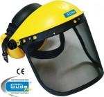 Casque de protection visage audition travaux bruyants et poussiereux