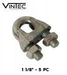 """VINTEC - Serre cable 1-1/8"""" 5 pc"""