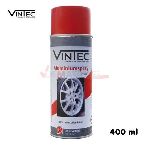 Spray aluminum - traitement métal 400 ml - qualité PRO