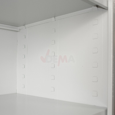 Armoire grise XXL - 1100 x 1920 x 580 mm