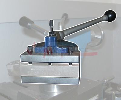 Porte outil pour tour 5 pièces + acc - acier