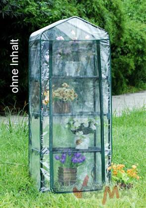 serre pour plantes 4 tablettes 690 x 490 x 1570 mm jardin entretien. Black Bedroom Furniture Sets. Home Design Ideas