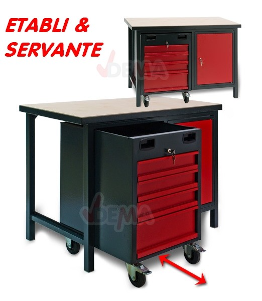 servante tabli courroie de transport. Black Bedroom Furniture Sets. Home Design Ideas