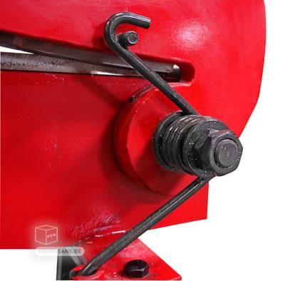 Cisaille à tôle à main - Longueur de coupe 500 mm