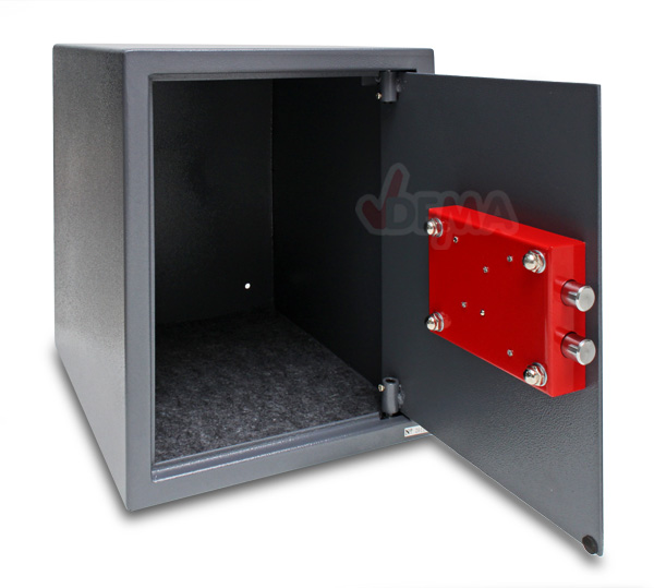 Coffre fort de bureau 42 sans système électronique 300 x 370 x 380 mm