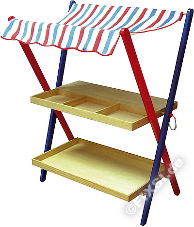marchande en bois stand fruits et l gumes enfants. Black Bedroom Furniture Sets. Home Design Ideas