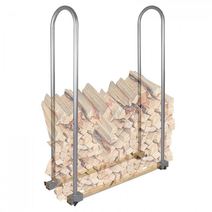 Chevalet de stockage b ches bois entretien forets - Chevalet a buche ...