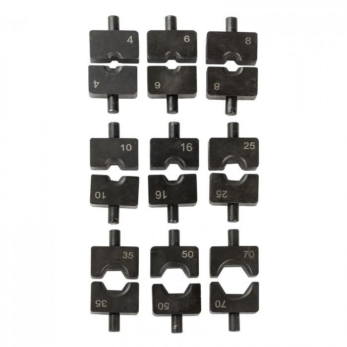 Pince à sertir hydraulique - sertissage cosses 4 à 70 mm²