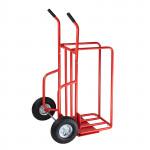 Diable - Chariot manutention spécial transport bûches - 150 kg maxi
