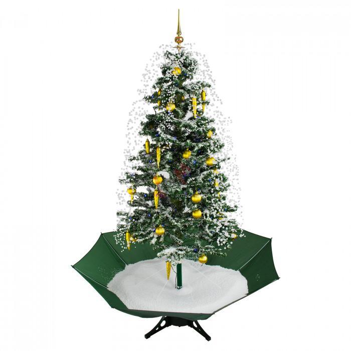 Sapin de Noël artificiel neige en circuit fermé - musique 1750 mm