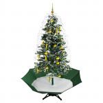 Sapin de Noël artificiel neige en circuit fermé - musique 1950 mm