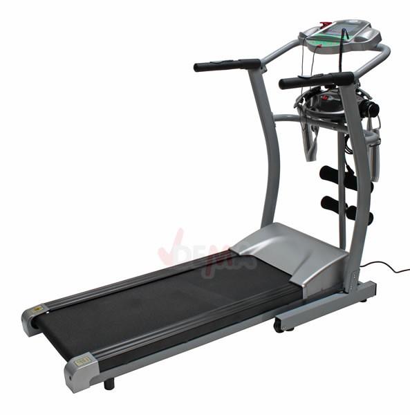 Tapis roulant électronique avec entrainement musculaire et massage
