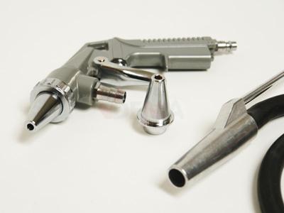 Pistolet de sablage avec accessoires