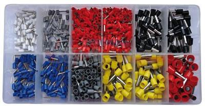 Assortiment cosses de fixation - 625 pc en coffret - VINTEC