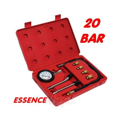 Compressiomètre pour moteur ESSENCE - 8 pièces
