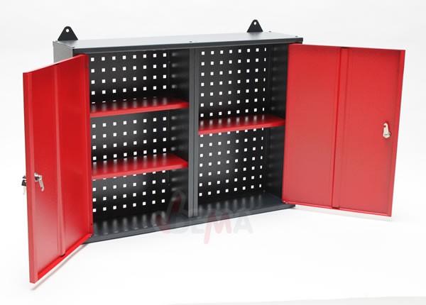Armoire de rangement métallique à fixer - 1200 x 220 x 610 mm
