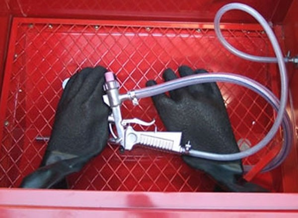 Gants pour cabine de sablage D24370