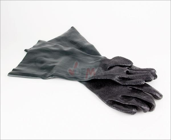 Gants spécial pour cabine de sablage sableuse épais 1 mm - 490 mm