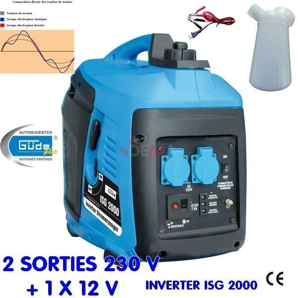 Groupe électrogène INVERTER ISG 2000